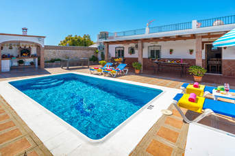 Villa Flores Sol, Nerja, Andalucia, Spain