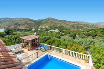Villa Hacilla, Frigiliana, Andalucia, Spain