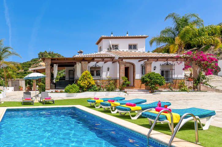 Villa Jomada, Frigiliana, Andalucia, Spain