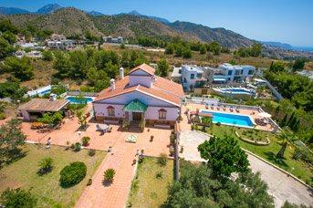 Villa Jose Lucien, Frigiliana, Andalucia, Spain