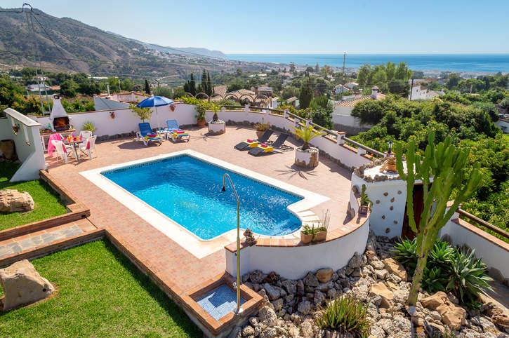 Villa La Era, Frigiliana, Andalucia, Spain