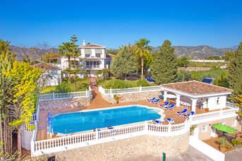 Villa Las Mariquitas, Frigiliana, Andalucia, Spain