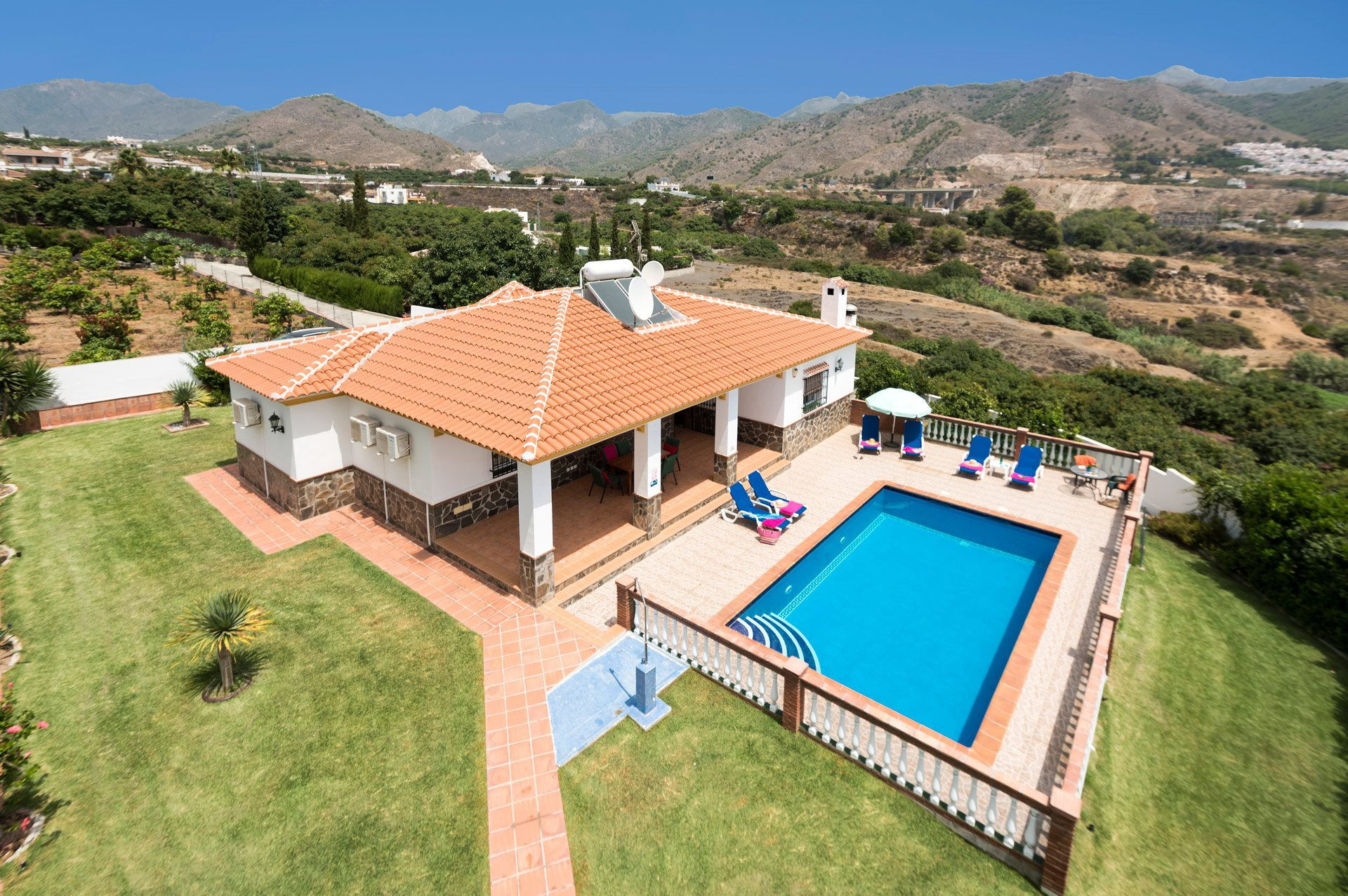 Villa Laura Sol, Nerja, Andalucia, Spain