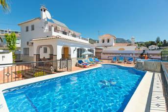 Villa Loly, Nerja, Andalucia, Spain