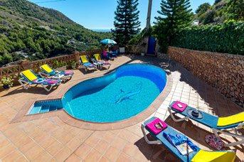 Villa Lotea, Frigiliana, Andalucia, Spain