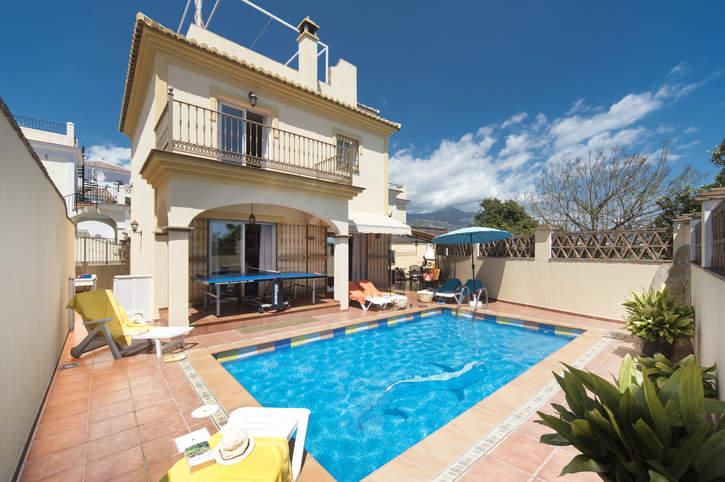 Villa Lucia Lara, Nerja, Andalucia, Spain