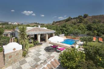 Villa Mercedes Ruiz, Nerja, Andalucia, Spain