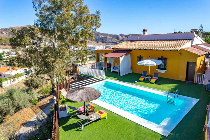 Villa Omairi, Torrox, Andalucia, Spain
