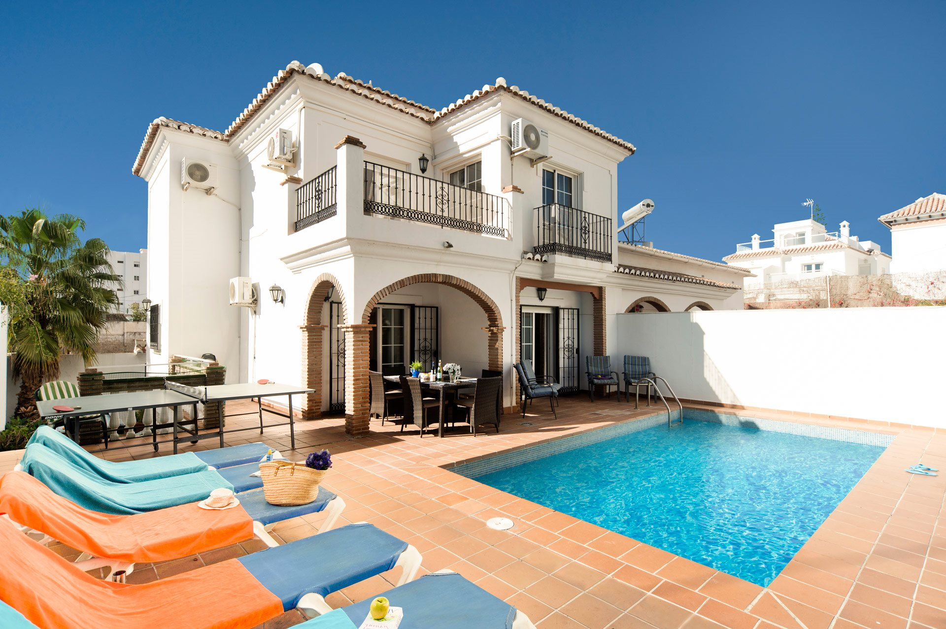 Villa Palomas Sol, Nerja, Andalucia, Spain