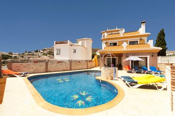 Villa Ramos Lara, Nerja, Andalucia, Spain