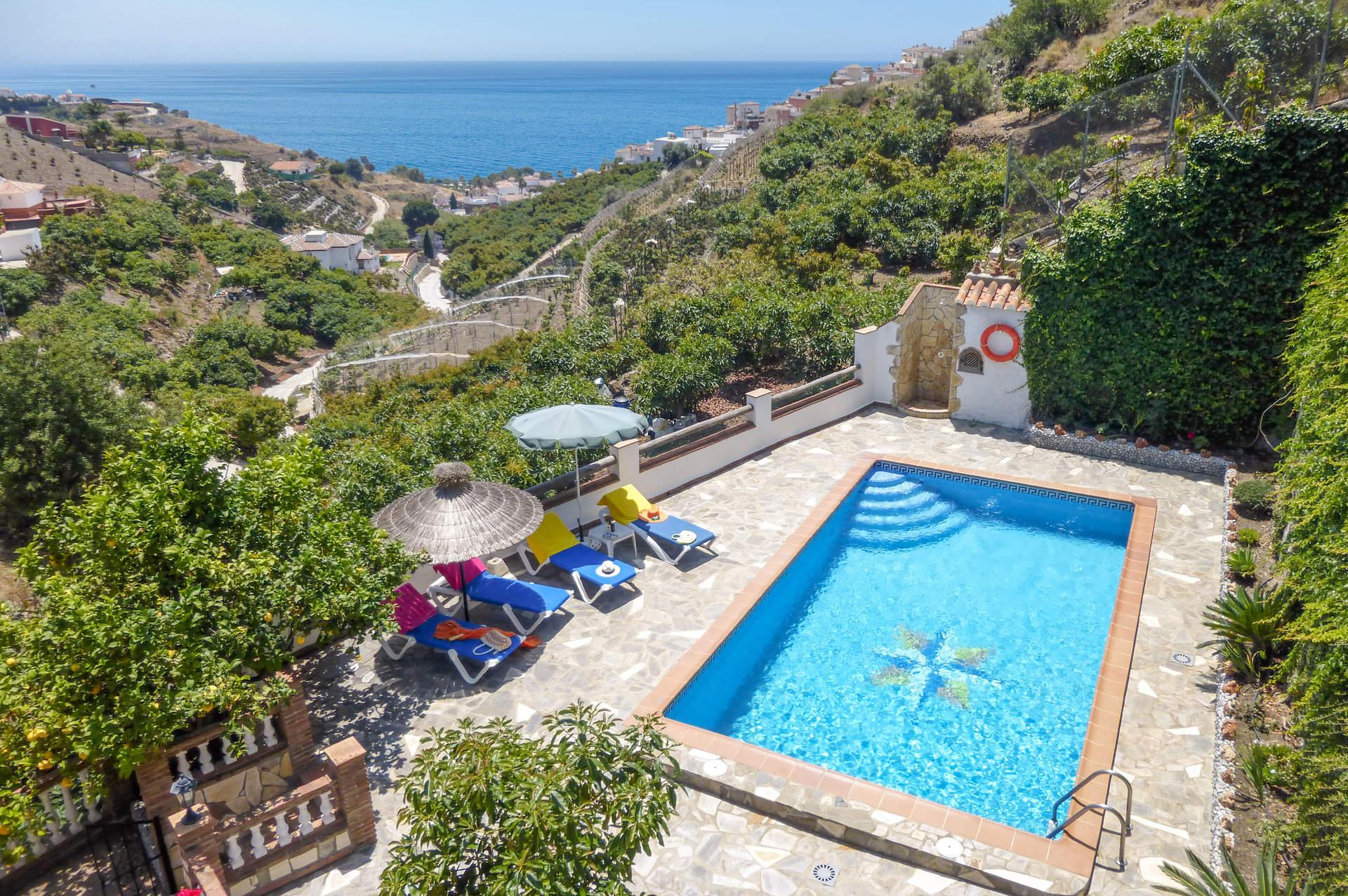 Villa Rodriguez Sol, Nerja, Andalucia, Spain