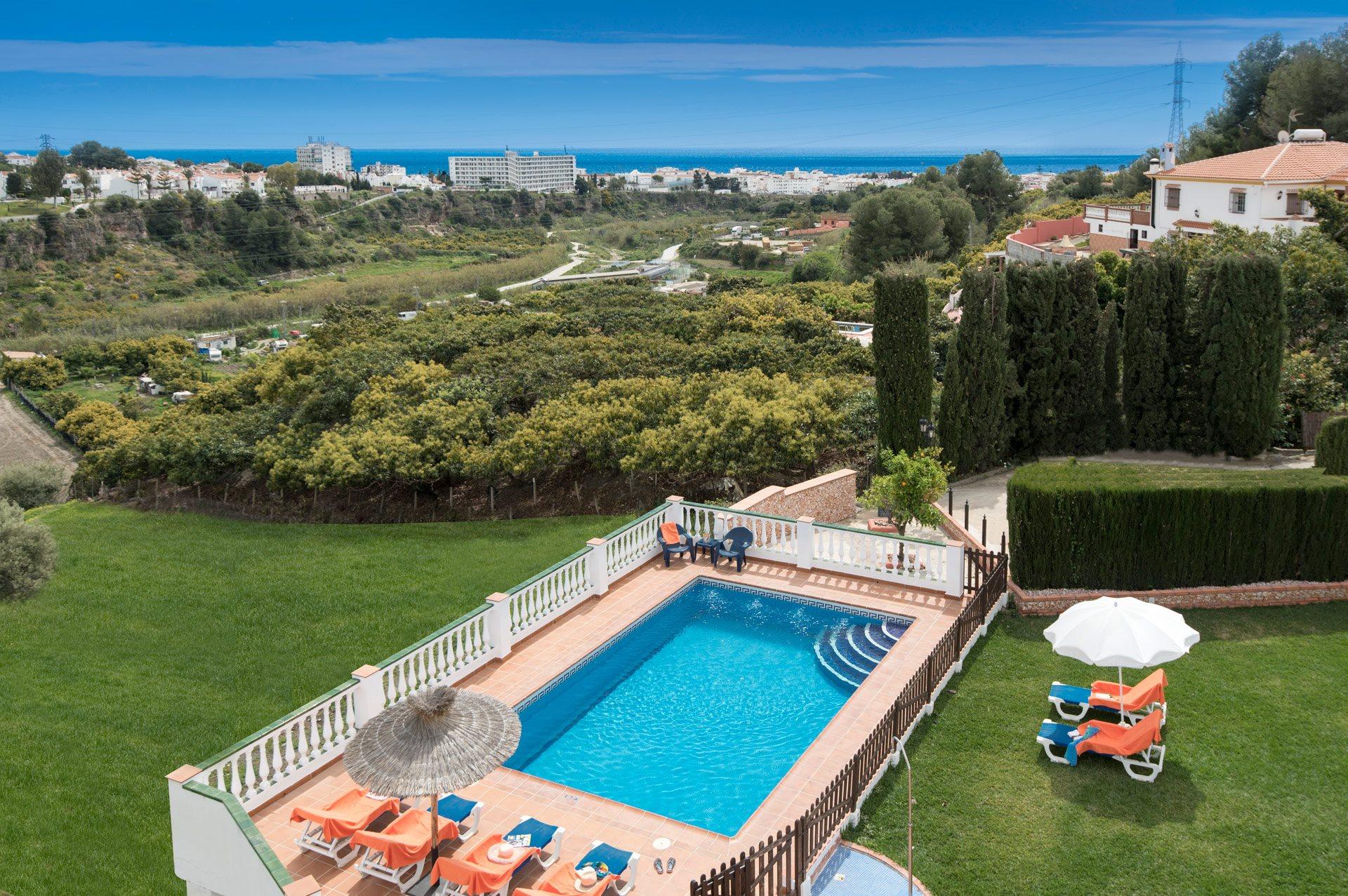 Villa Rosa Minas, Nerja, Andalucia, Spain