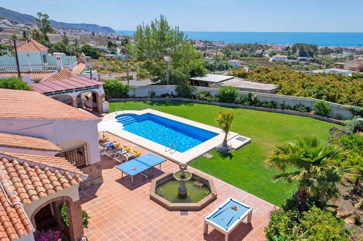 Villa Soli, Frigiliana, Andalucia, Spain