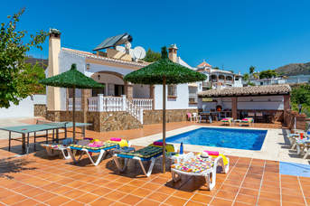 Villa Tres Olivos, Frigiliana, Andalucia, Spain
