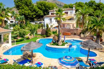 Villa Ubica, Nerja, Andalucia, Spain
