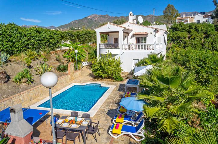 Villa Verdiales, Frigiliana, Andalucia, Spain