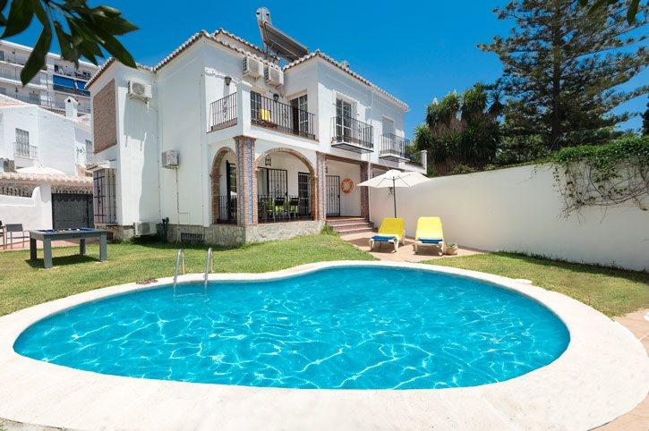 Villa Victoria Sol, Nerja, Andalucia, Spain