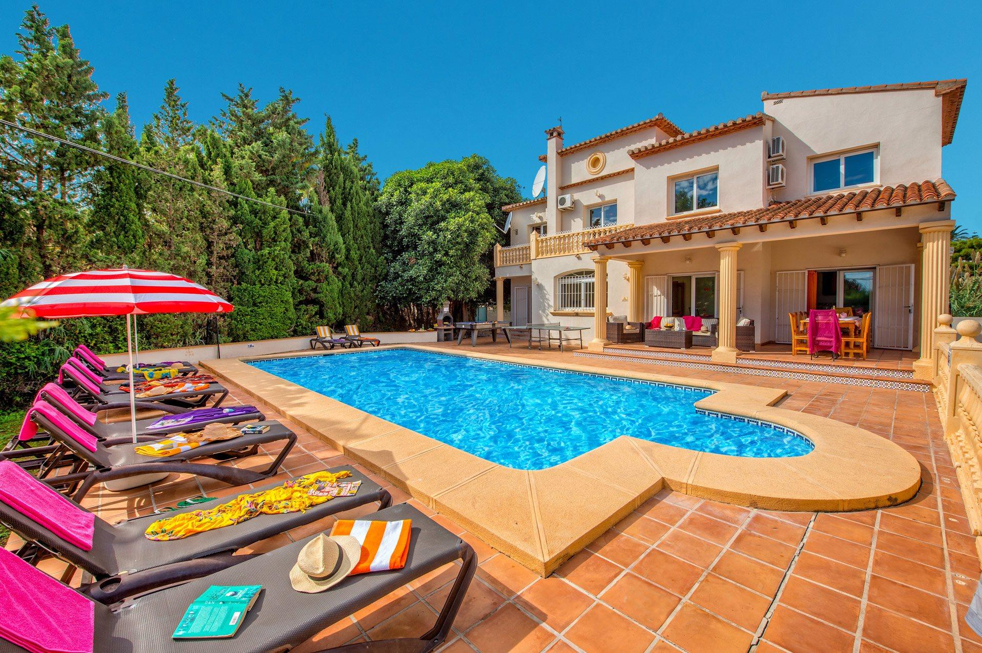 Villa Belinda, Calpe, Costa Blanca, Spain