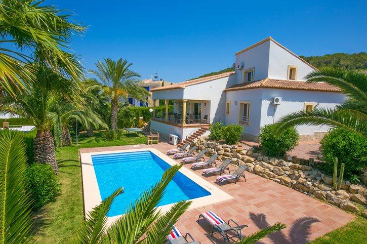 Villa Cabriel, Javea, Costa Blanca, Spain