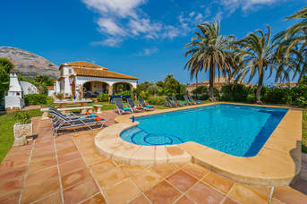 Villa Clotilde, Javea, Costa Blanca, Spain