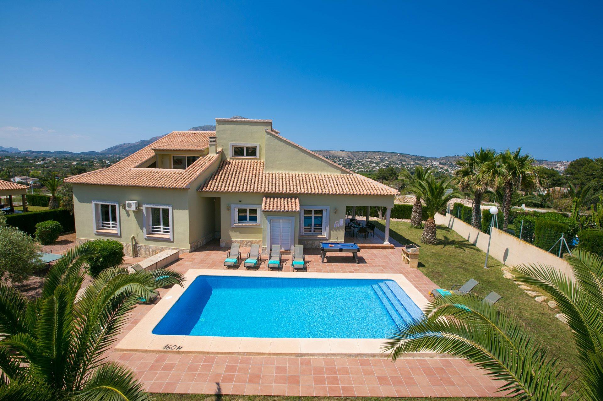Villa Fresno, Javea, Costa Blanca, Spain