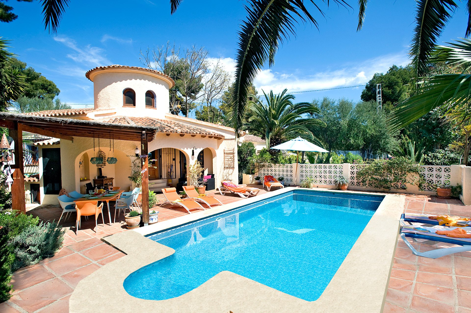 Villa Laguna, Moraira, Costa Blanca, Spain
