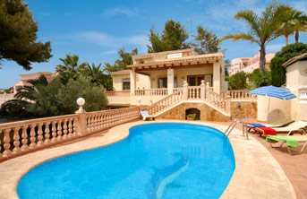 Villa Mar China, Moraira, Costa Blanca, Spain