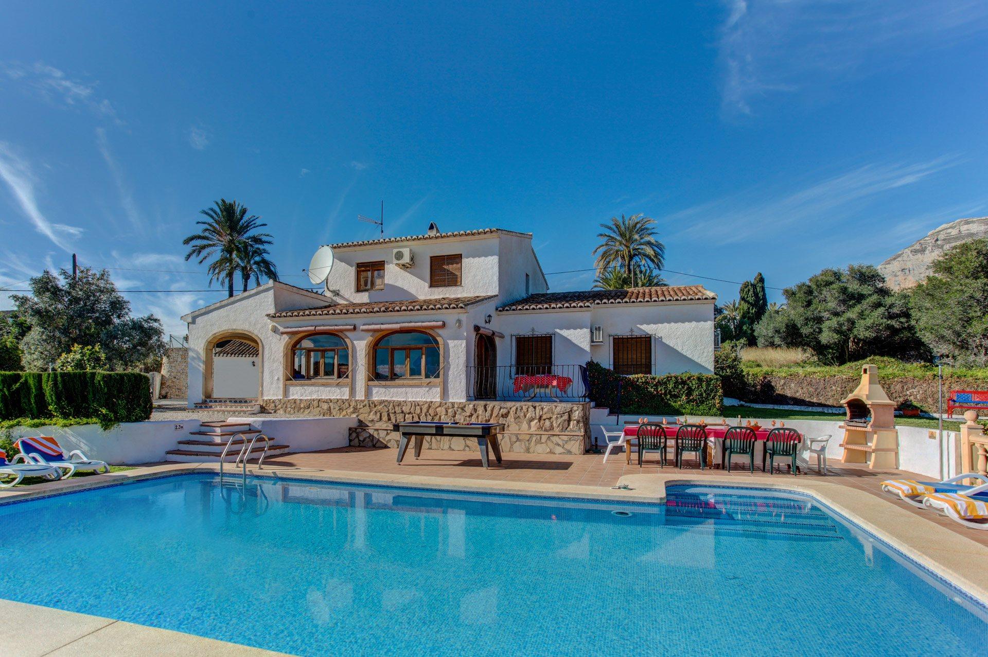 Villa Mellissa, Javea, Costa Blanca, Spain