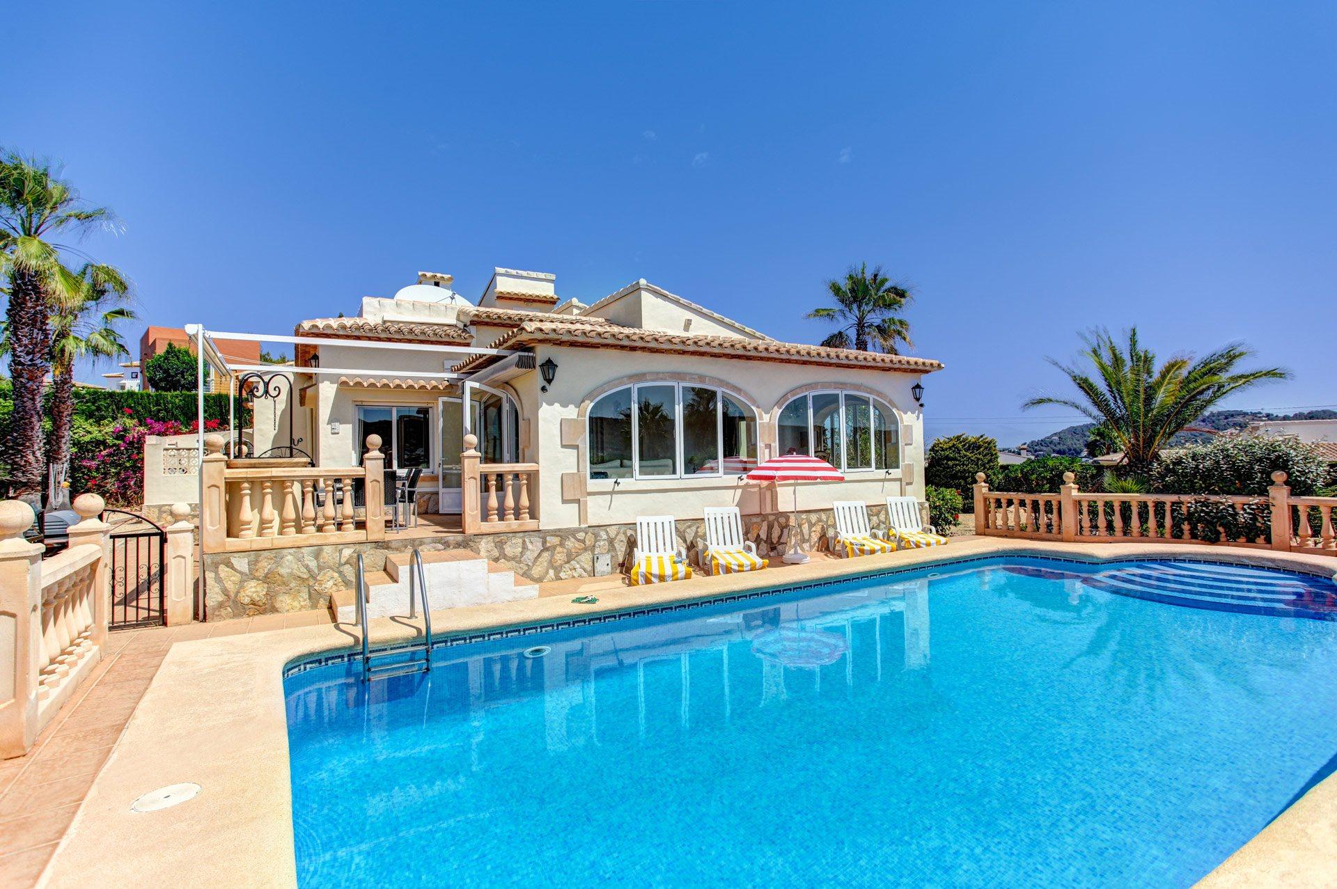 Villa Oscar, Javea, Costa Blanca, Spain