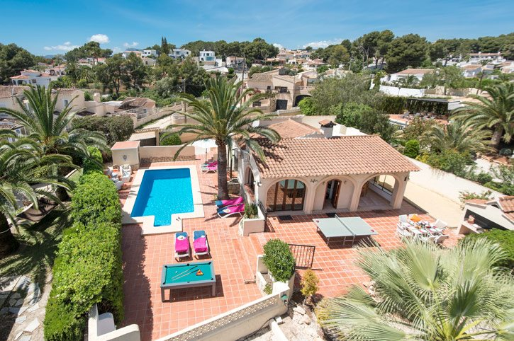 Villa Safari, Moraira, Costa Blanca, Spain