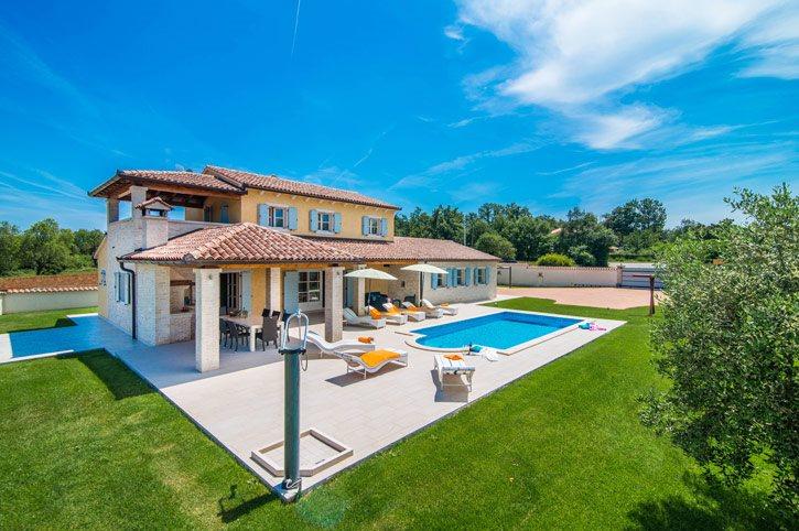 Villa Eni, Pula, Croatia