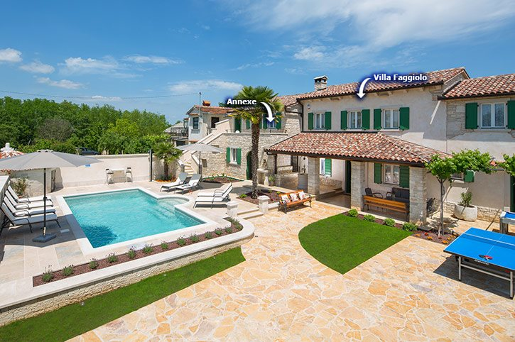 Villa Faggiolo, Rovinj, Croatia