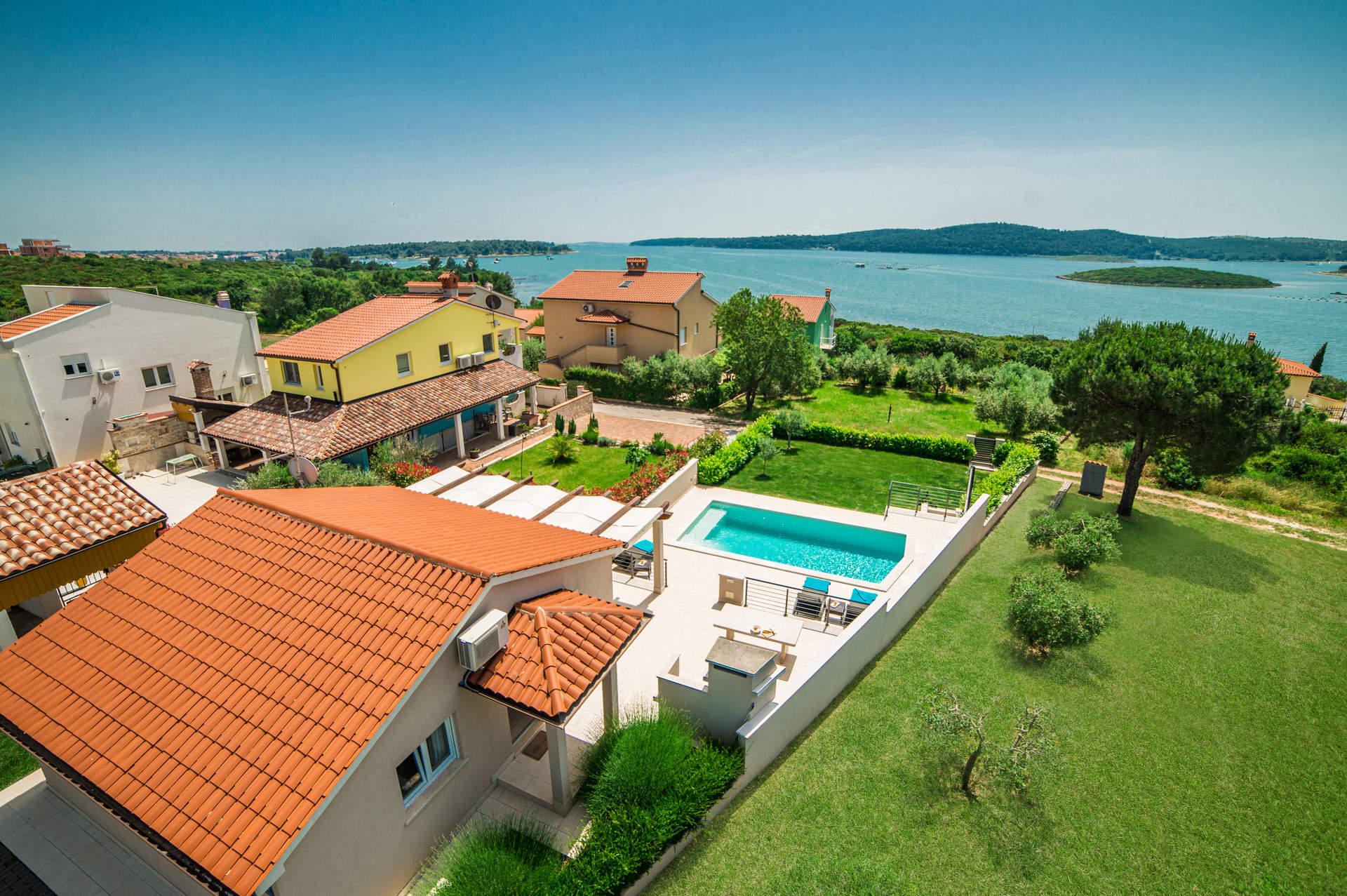 Villa Island View, Pula, Croatia