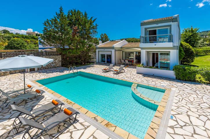 Villa Aeolus, Avlaki, Corfu, Greece