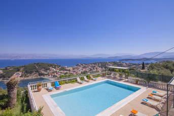 Villa Agathi, Kassiopi, Corfu, Greece