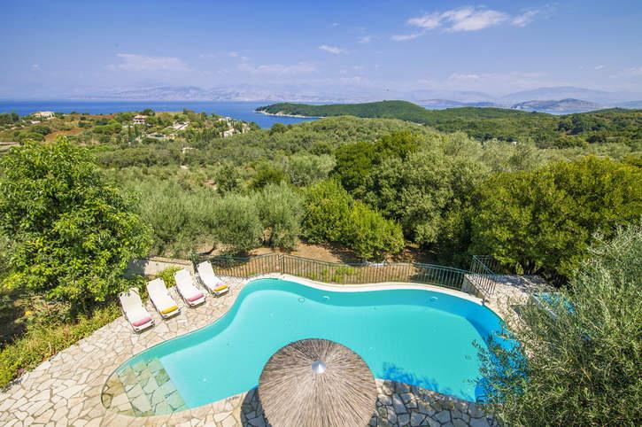 Villa Anamelia, Avlaki, Corfu, Greece