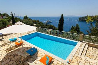 Villa Anastasia, Kalami, Corfu, Greece