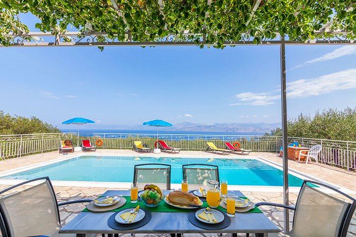 Villa Andreas Kassiopi Corfu Greece