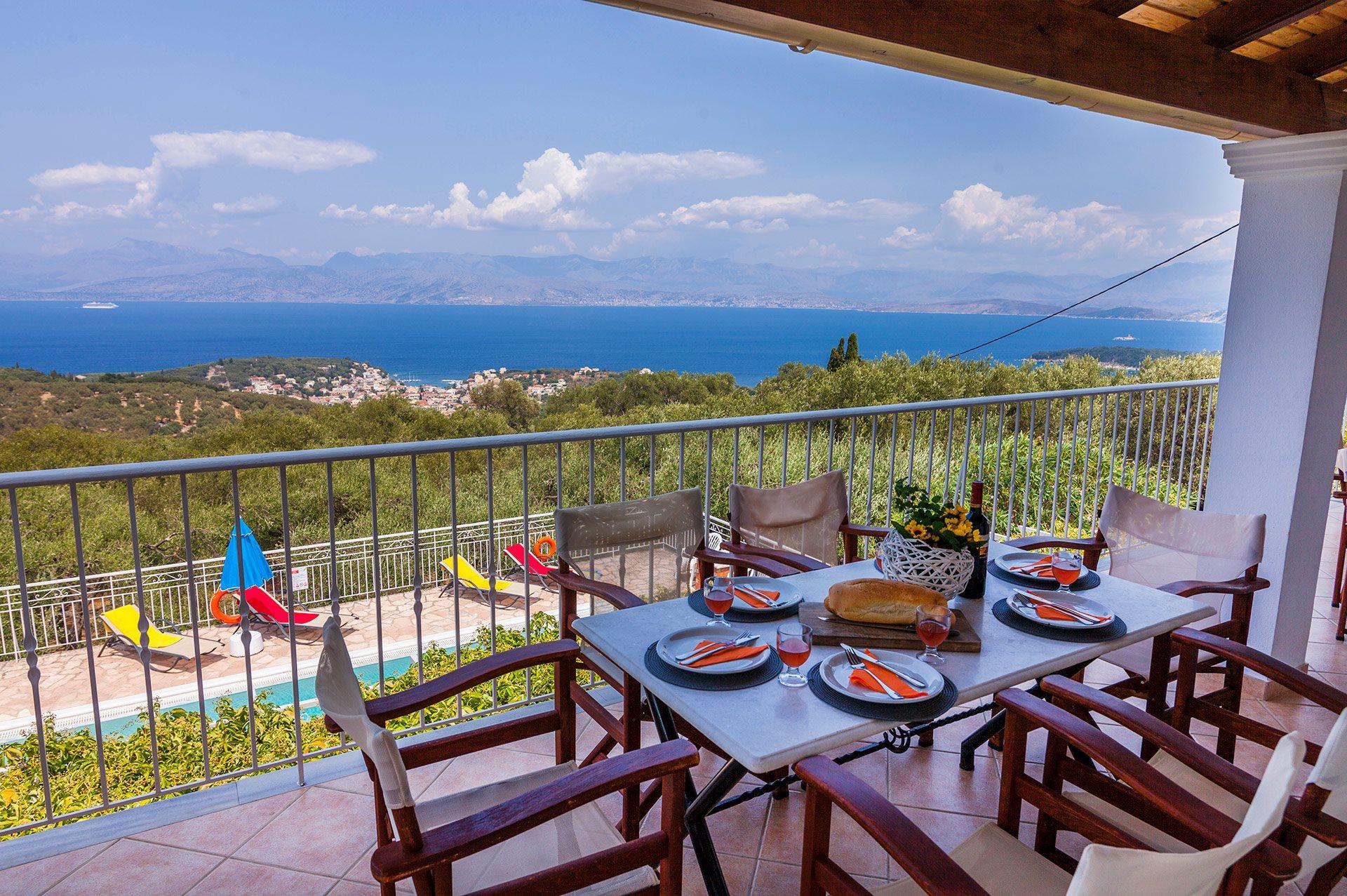 Greece Villa Andreas Kassiopi Corfu