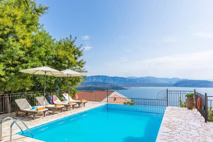 Villa Andreas Vingla, Kalami, Corfu, Greece