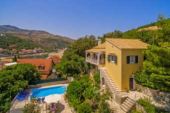 Villa Angela, Kassiopi, Corfu, Greece