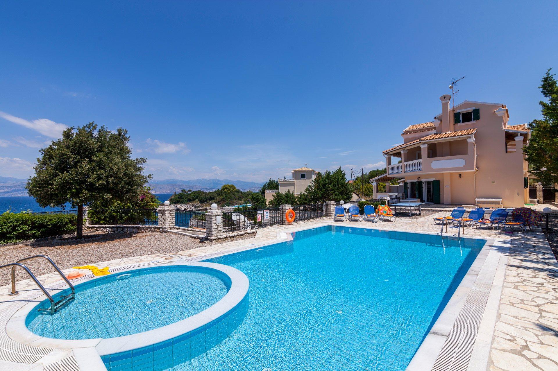 Villa Angelos In Kassiopi Corfu Villa Plus