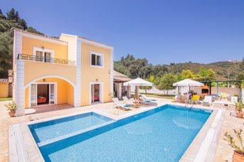 Villa Anna, Agios Stefanos, Corfu, Greece