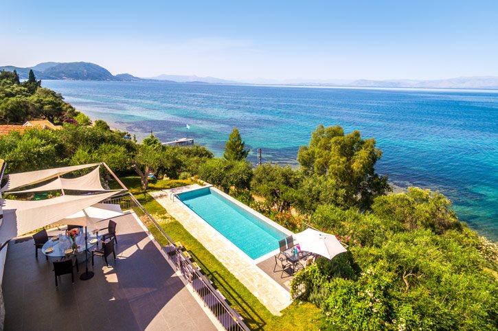 Villa Apanemia Mare, Boukari, Corfu, Greece