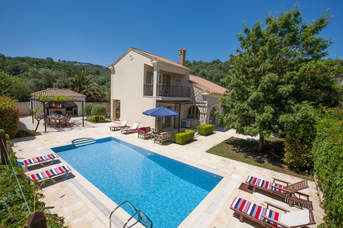Villa Barbaro, Avlaki, Corfu, Greece