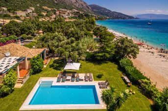 Villa Barbati Beach House, Barbati, Corfu, Greece