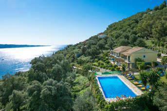 Villa Caribia, Agios Stefanos, Corfu, Greece