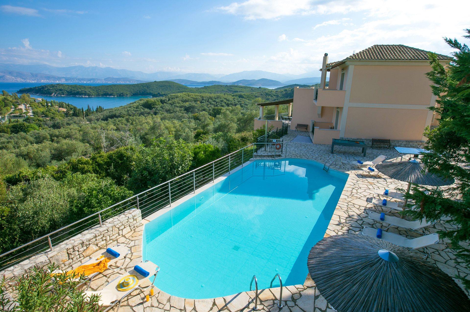 Villa Dendrilla, Avlaki, Corfu, Greece
