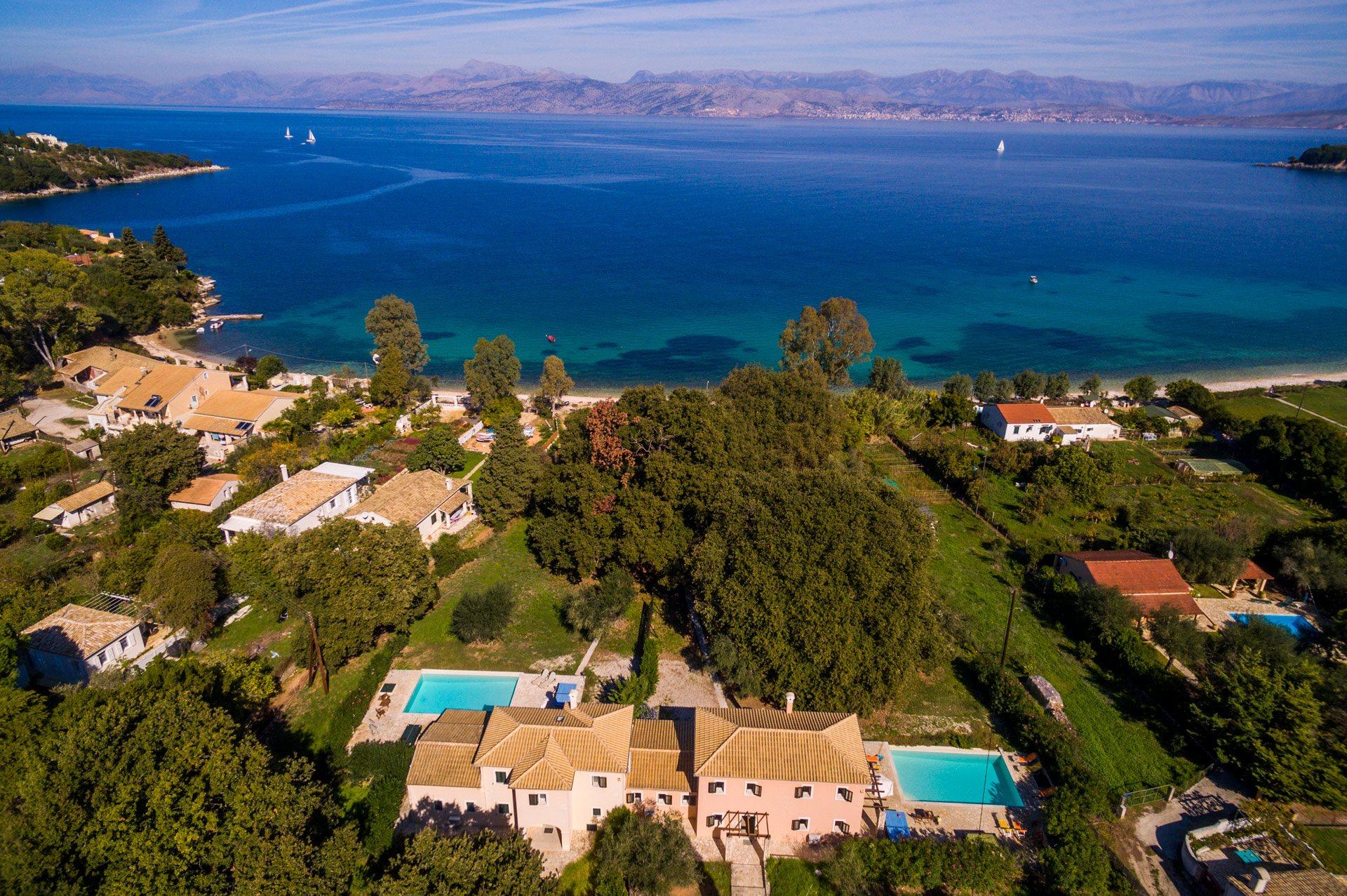 Villa Dimitris Beach, Avlaki, Corfu, Greece