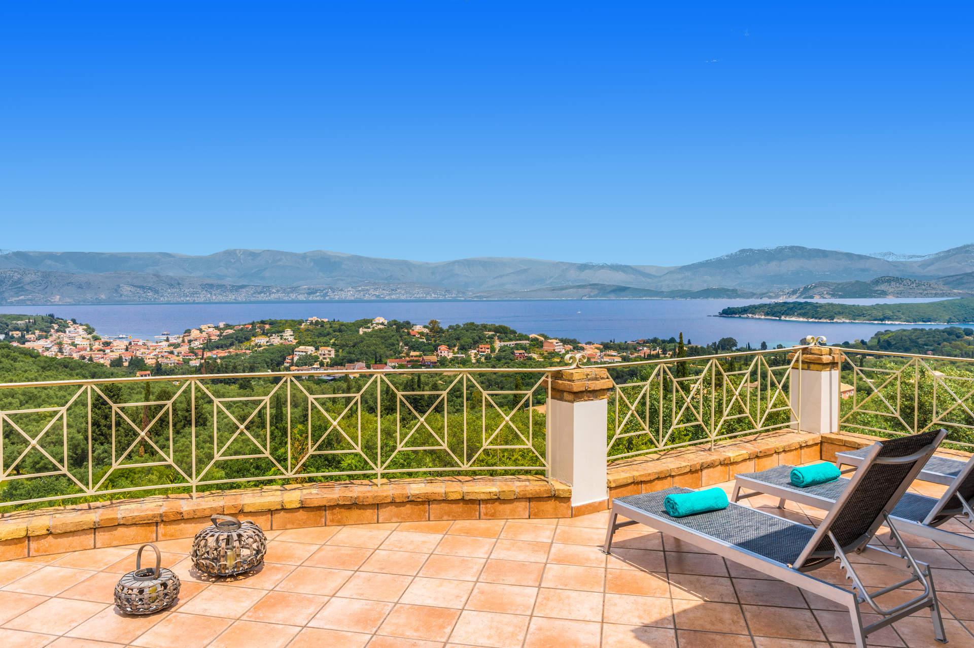 Villa Eleni House, Kassiopi, Corfu, Greece